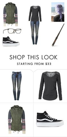 """""""Untitled #381"""" by kts-world ❤ liked on Polyvore featuring Anine Bing, Fat Face, Aéropostale and Vans"""