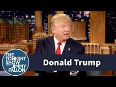 The Tonight Show Starring Jimmy Fallon: Donald Trump Talks About Preparing for Presidential Debates