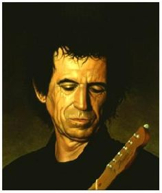 George Underwood specialises in idiosyncratic figurative oil paintings and surreal imagery. Art Music, Music Artists, Celebrity Caricatures, Funky Art, Creative Artwork, Keith Richards, Art Studies, Illustration Art, Illustrations