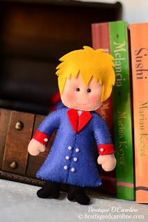 Atelier - Boutique D' Caroline: Pequeno príncipe!