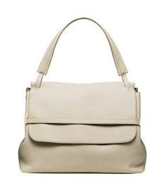 The Row Grain Calfskin Shoulder Bag