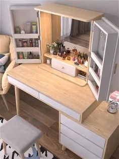 Furniture For Small Spaces, Extra Storage, Diy Furniture, Bedroom Furniture Design, Tiny Homes, Small Room Design Bedroom, Small House Interior Design, Bedroom Closet Design, Home Room Design