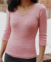 Ravelry: Verve Pullover pattern by Mary Annarella