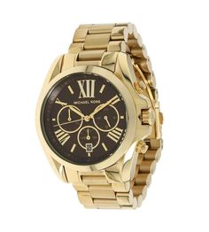 Luxury Watch Boutique - Michael Kors Ladies Bradshaw Gold-Tone Chronograph Watch MK5502, £185.00 (http://www.luxurywatchboutique.com/michael-kors-ladies-bradshaw-gold-tone-chronograph-watch-mk5502/)