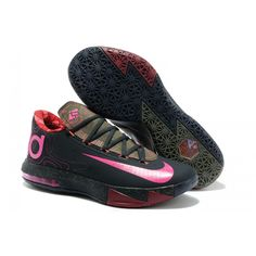Nike Zoom Kevin Durant Kd 6 Black Pink
