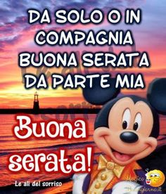 Buona Serata Mickey Mouse, Disney Characters, Fictional Characters, Facebook, Batman, Lol, Animals, Beauty And The Beast, Psicologia