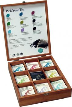 Tea Shop, Bamboo Gift Set - Ideal Gift for the Tea Lover!