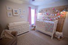 Arden's Barn Themed Nursery - Modern Baby Girl Nursery Themes, Chic Nursery, Nursery Modern, Nursery Neutral, Nursery Room, Baby Room, Themed Nursery, Nursery Ideas, Project Nursery