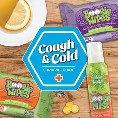 Cough and cold season is here, and Boogie Wipes is teaming up with Saline Soothers to help you and your family feel better faster with a Cough