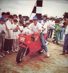 Ayrton Senna Ducati 851