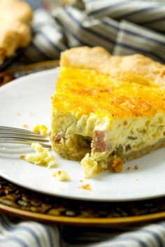 This is the quiche recipe of all quiche recipes and can be tailored to your taste by switching out the mix-ins. BUT, it's the egg custard that makes it!