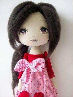 cloth doll. girl gift,nursery decoration