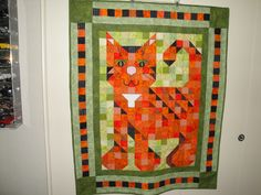 6/18/2012 Purr Patch Kitten Quilt donated to The Cat House on the Kings, Parlier, CA