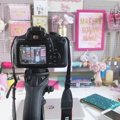We are sharing our photography choices for #MarchMeetTheMaker today! For product and blog photos I use a Canon DSLR and manfrotto tripod to take all shots in the studio with natural light or lighting kit if it's a dull day. For my You Tube videos I use a Canon S120 and I am still searching for a good horizontal arm to use over my desk for stationery shots. At the moment I am working on updating all my product photography which is a big task! It's definitely something I enjoy though and have…