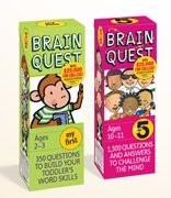 Fun and Educational - Brain Quest is available from age 0+ thru Age 13 (7th Grade) http://www.brainquest.com/