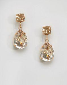 660c6924d Discover Fashion Online Pear Drops, Krystal, Fashion Online, Drop Earrings,  Diamond Earrings