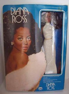 1977 Mego Diana Ross Doll NRFB with Loose Arm PLEASE READ #Mego #DollswithClothingAccessories