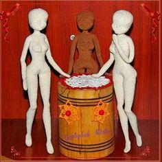 Ну вот и заготовки каркасных кукол готовы. #каркаснаякукла #авторскиекуклы #недовяз #крючок #амигуруми #кукла #хендмейд #doll #crochet #weamiguru #amigurumi #amigurumidoll
