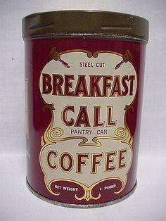 love vintage tea and coffee tins