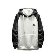 RETOV Mens 1//4-Zip Hooded Pullover Pack-Away Jacket 3X-Large Black