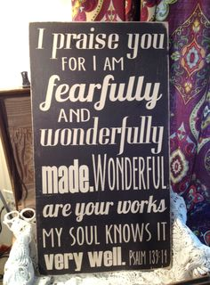 Fearfully and Wonderfully Made Hand by sugarcoatedsentiment - love this!