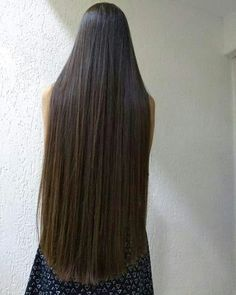 Permed Hairstyles, Pretty Hairstyles, Straight Hairstyles, Braided Hairstyles, Long Dark Hair, Very Long Hair, Beautiful Long Hair, Amazing Hair, V Cut Hair