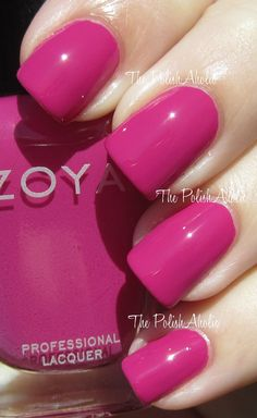 Zoya Nail polish!  Best nail polish ever. And that's saying something coming from me! I'm not easily impressed! lol