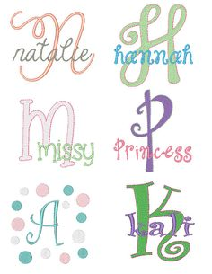 Hey, I found this really awesome Etsy listing at http://www.etsy.com/listing/157182672/girls-embroidery-font-set-instant