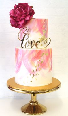 The best way to shower a bride to be is with a exquisite cake. Let us take the stress out of planning a bridal shower by offering a tasty and unique cake. Browse through our collection of popular cakes designs or let us help you create a cake that meets … Elegant Birthday Cakes, Cake Birthday, Engagement Cake Design, Engagement Cakes, Unique Cakes, Elegant Cakes, Gorgeous Cakes, Pretty Cakes, Bolo Macaron