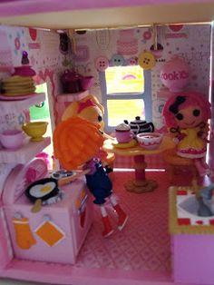 Lemons To Gelato: A's Dreamy Bejeweled Dollhouse