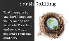 Earth Day Connection: Listen to the Earth