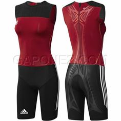Women's Powerlifting Singlet | ... Women Lifter Suit (adiPOWER) Red/Black Colour X42954 Weight Lifting