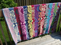 Ravelry: Project Gallery for Brocade Throw pattern by Kaffe Fassett
