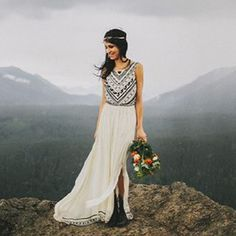 Boho-Vintage Day Camp Wedding: Anjuli + Jesse | Green Wedding Shoes Wedding Blog | Wedding Trends for Stylish + Creative Brides