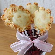 Torta de banana no palito (pop pie) » NacoZinha - Blog de culinária, gastronomia e flores - Gina