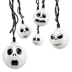 Disney Holiday Lights - Halloween Jack Skellington - Nightmare Before Christmas - Theme Park Exclusive