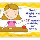 LOTS of math morning work options that line-up to the Common Core Standards.  This pack will also make a great option for Math Centers. (26 pages) ...