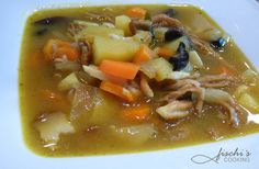 fischis cooking and more: fette henne - suppe mit gemüse