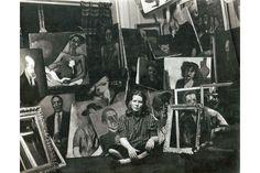 Fondation Vincent van Gogh Arles opens retrospective of the work of Alice Neel. Alice Neel in her Spanish Harlem apartment, ca. 1940
