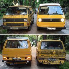 Желток желтку рознь #vw #t1 #bus #van #volkswagen #retro #classic #kaliningrad #russia #auto #калининград #россия #legendary #t2 #oldschool #hippie #t3 #bulli #westfalia  #vwt1 #vwt2 #vwt3 #aircooled #vanagon #t25 #vwt3westfalia #camper #camping #pepsbus by westfalia_joker_russia