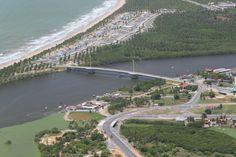 Praia e Ponte do Paiva - Jaboatão, PE