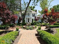 Gorgeous ~ from Hooked On Houses ~ Front Porch Envy: A Southern Beauty For Sale in Georgia