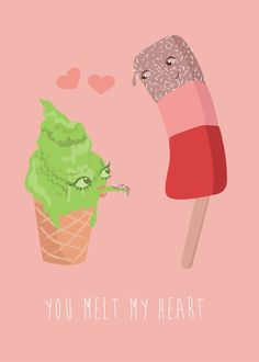 Cute ice cream illustration www.littlelemondesigns.co.uk & http://www.etsy.com/uk/shop/alittlelemonshop