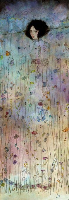 Gustav Klimt-like faeriesandgypsies: by guitarsally