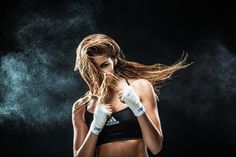 Boxing Womens Sports on Behance