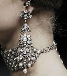 Follow  Link ..... Alexander McQueen Autumn/Winter 2008 ... I Dream of a World of Couture