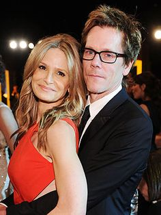 Kyra Sedgwick and Kevin Bacon. Kaley Cuoco and Ryan Sweeting. See 16 other celebs and their shameless prom poses (you know, where the guy stands behind the girl, all the better to show off her outfit). Tv Show Couples, Famous Couples, Cute Couples, Movie Couples, Hollywood Couples, Celebrity Couples, Celebrity News, Hollywood Style, Celebrity Style