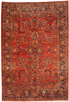 Sarouk carpet  Central Persia  circa 1920  size approximately 8ft. 9in. x 12ft. 4in.