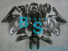Motorcycle Aftermarket Fairing kits Handcrafted Compression Molding Fits For Yamaha YZF600R Thundercat 1997 1998 1999 2000 2001 2002 2003 2004 2005 2006 2007 Glossy Matte Black  ABS Plastic