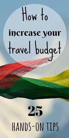 increase your #travelbudget and set up your #savingplan to realise your #dream. Check out our step-by-step guide and know how we and other families could get the funds via @4onaworldtrip
